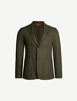 BARENA VENEZIA Single-breasted slim-fit stretch-wool blazer