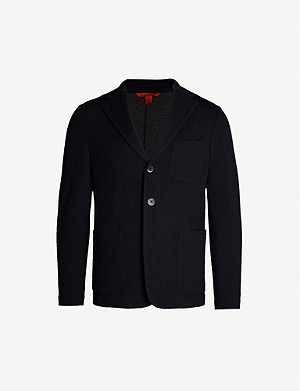 BARENA VENEZIA Regular-fit cotton-blend blazer