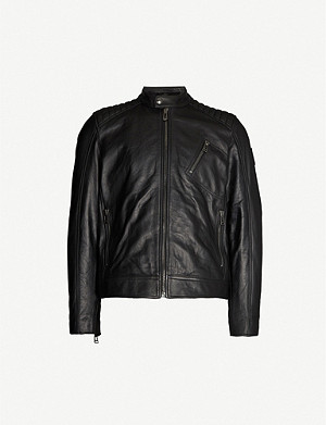 f85c23b44 BELSTAFF - Pershall leather jacket | Selfridges.com