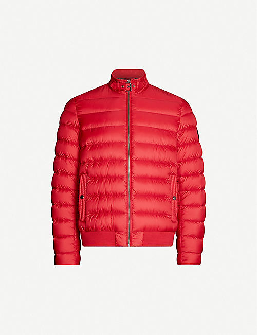 BELSTAFF Quilted shell-down bomber jacket