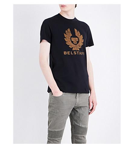 Belstaff Cottons Logo-print cotton-jersey T-shirt