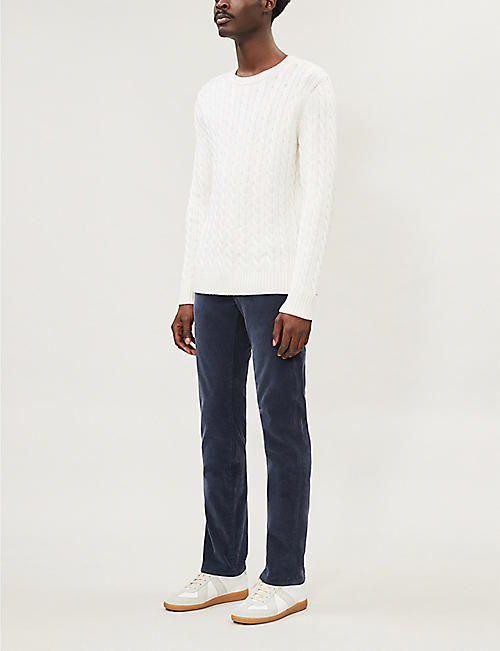 JACOB COHEN Straight corduroy trousers