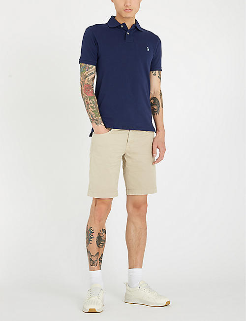 JACOB COHEN Tailored-fit stretch-cotton chino shorts