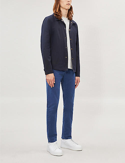 JACOB COHEN Slim-fit skinny cotton-blend chinos