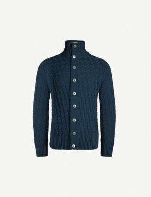 S.N.S. HERNING Button-up wool cardigan