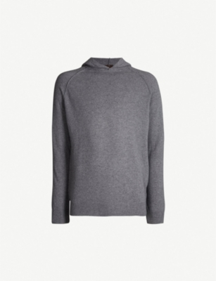 OSCAR JACOBSON Pascal wool and cashmere-blend hoody