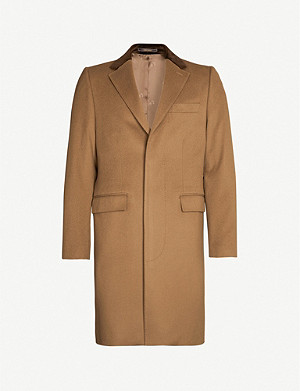 CROMBIE Retro wool coat