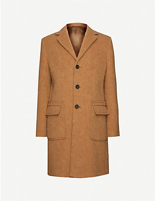 ASPESI: Notch-lapelled wool jacket