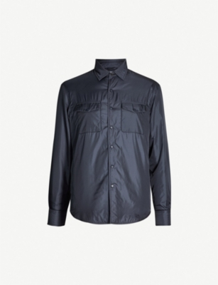 ASPESI Flap-pocket shell jacket