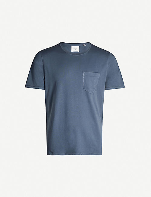 BILLY REID Classic-fit scoop-neck cotton jersey T-shirt