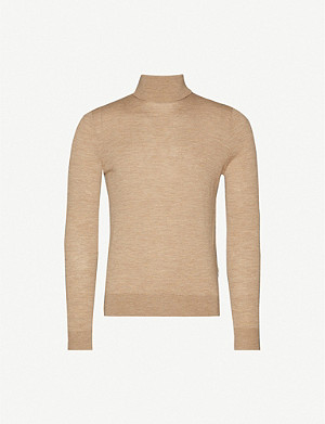 TIGER OF SWEDEN Turtleneck wool jumper