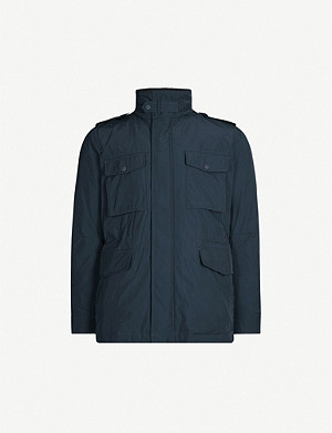 TIGER OF SWEDEN Ossien patch-pocket woven jacket