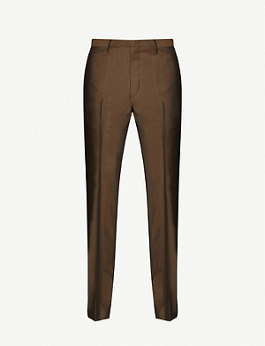 TIGER OF SWEDEN Slim-fit wool-blend trousers