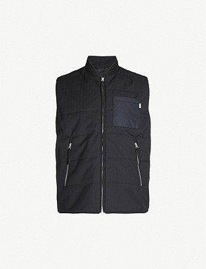 TIGER OF SWEDEN Padded woven gilet