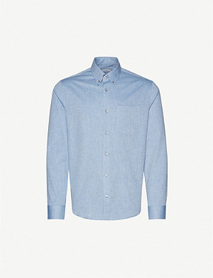 TIGER OF SWEDEN Sankt relaxed-fit woven shirt