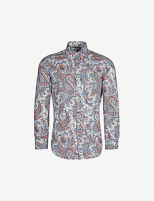 0c1d7dee1aeac ETRO Paisley-print modern-fit cotton shirt