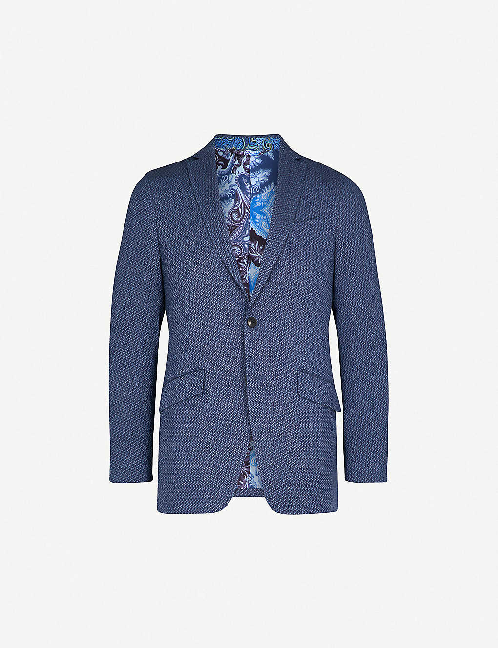ETRO - Minerva textured regular-fit woven jacket