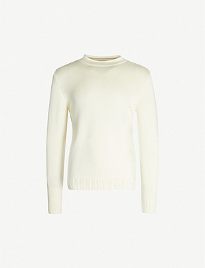 SUNSPEL Guernsey wool jumper