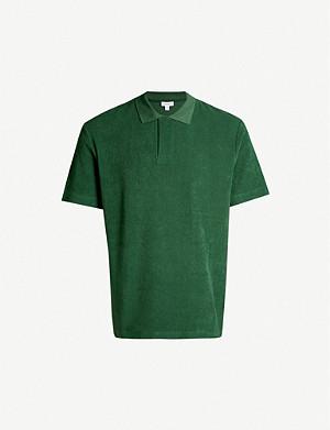 baa7851e SUNSPEL - Slim-fit cotton-towelling polo shirt | Selfridges.com