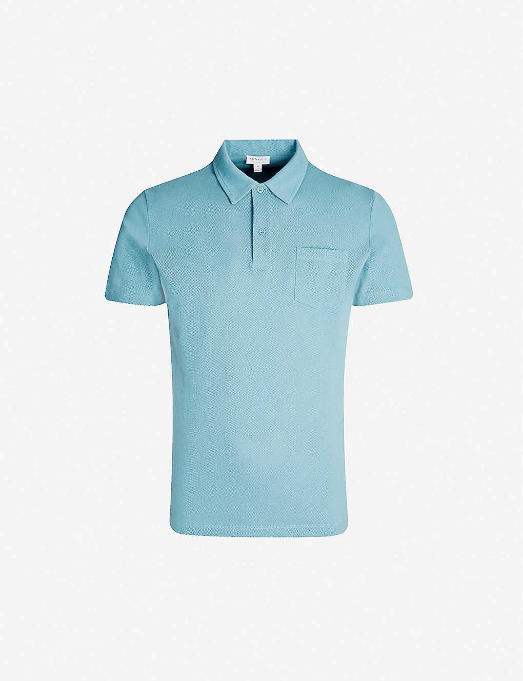 ee95d7d2e SUNSPEL - Riviera cotton-mesh polo shirt