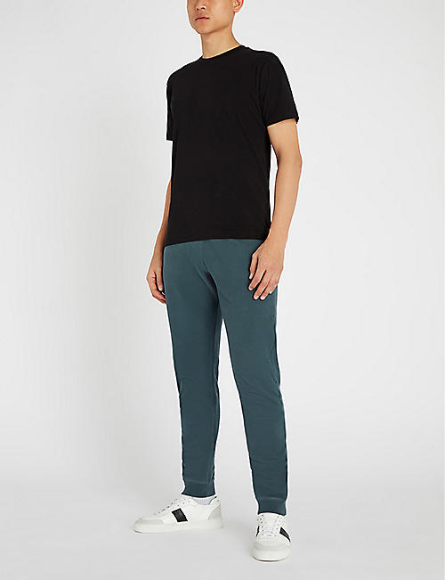 SUNSPEL Tapered cotton-jersey jogging bottoms