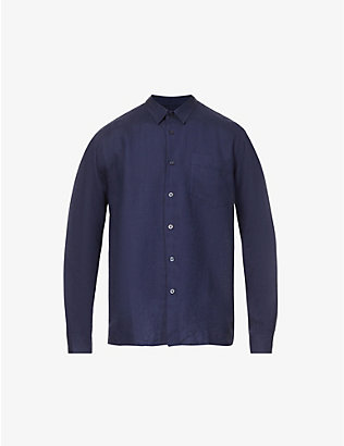VILEBREQUIN: Caroubis regular-fit linen shirt