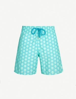 VILEBREQUIN Moorea anchor-print swim shorts