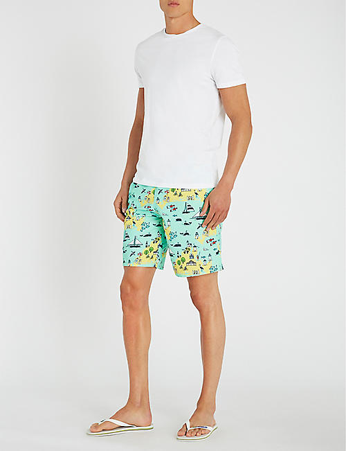 VILEBREQUIN Moorea holiday sketch-print swim shorts