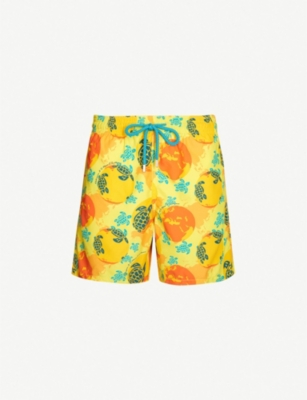 VILEBREQUIN Moorea holiday eco turtle-print swim shorts