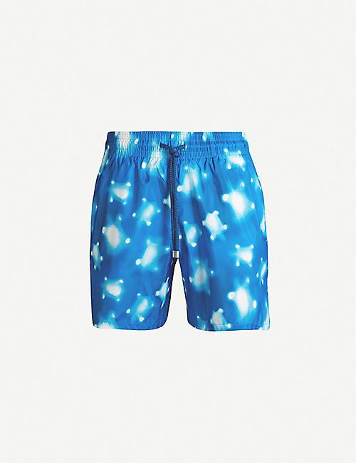 8fdd65e4c4ac VILEBREQUIN Mahina turtle-print regular-fit swim shorts