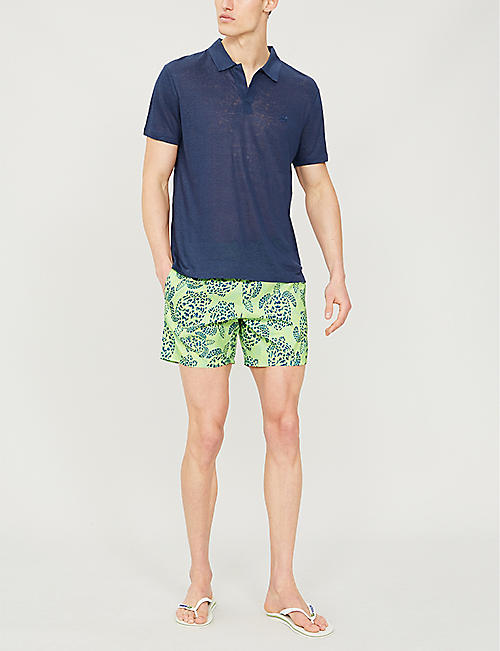 VILEBREQUIN Mahina jungle turtle-print swim shorts