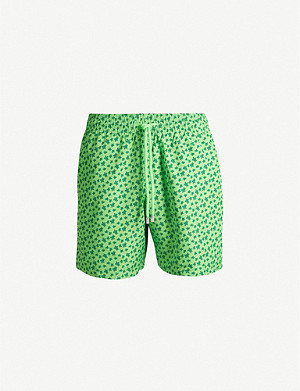 VILEBREQUIN Moorea micro turtle-print regular-fit swim shorts
