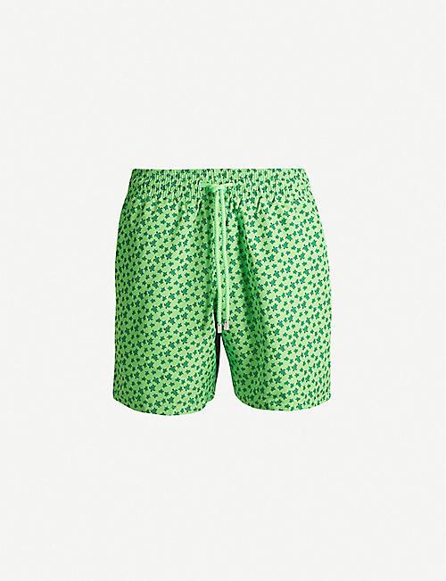 1985ee6715 VILEBREQUIN Moorea micro turtle-print regular-fit swim shorts