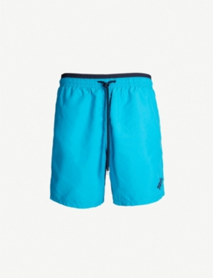 VILEBREQUIN Moka colour-blocked swim shorts