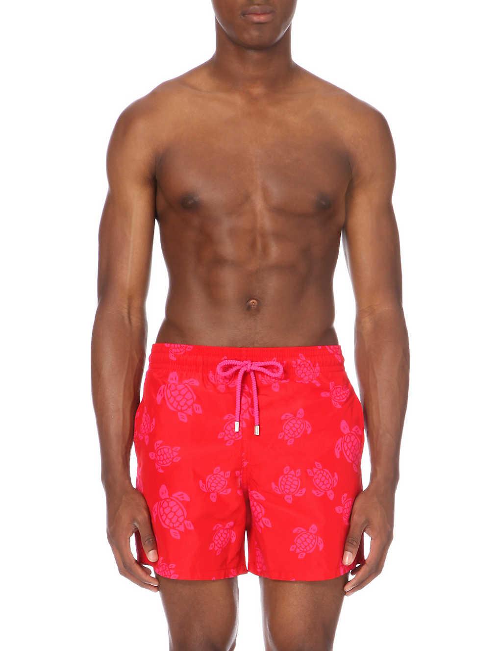 4c0d9c1a7d VILEBREQUIN - Turtle-print swim shorts | Selfridges.com