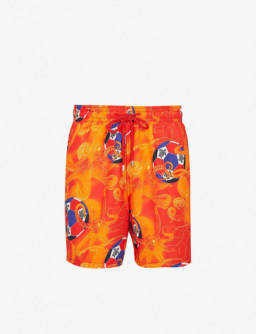 9395927fa5e3b VILEBREQUIN - Octopus-print relaxed-fit swim shorts | Selfridges.com