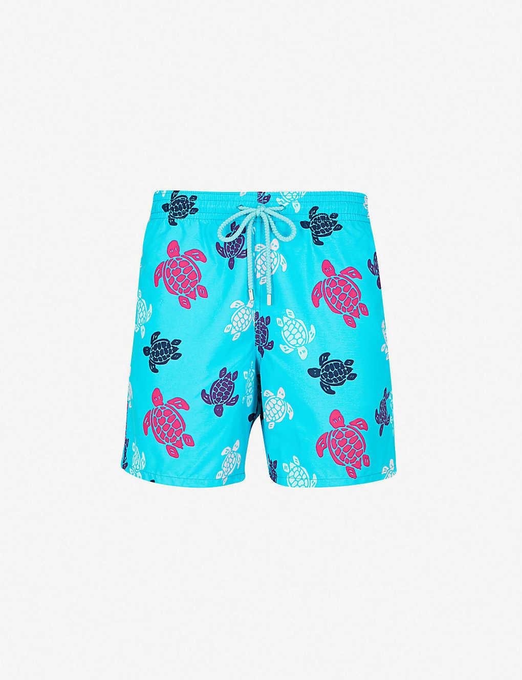 b594a7a8e6c VILEBREQUIN - Turtle-print swim shorts | Selfridges.com