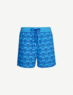 VILEBREQUIN Moorea seahorse-patterned swim shorts