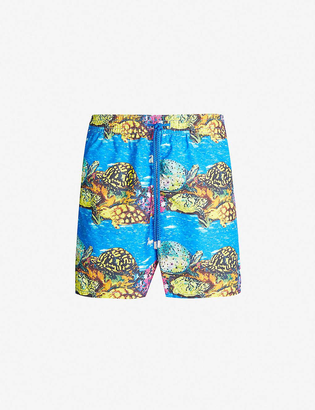 eac408b1a8ccb Vilebrequin x Hunt Slonem Moorea turtle-print swim shorts - Multi ...
