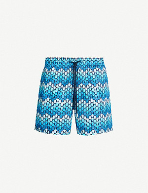 VILEBREQUIN Moorea herringbone turtles swim shorts