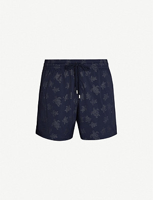 VILEBREQUIN Moorise stretch turtle-print swim shorts