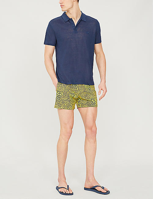 VILEBREQUIN Moorise colour-blocked swim shorts