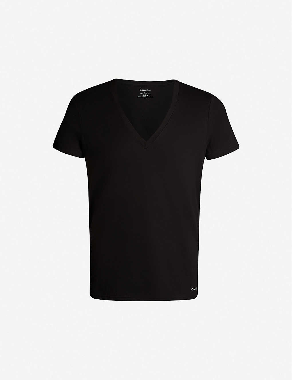 CALVIN KLEIN: Pack of two cotton-jersey T-shirts