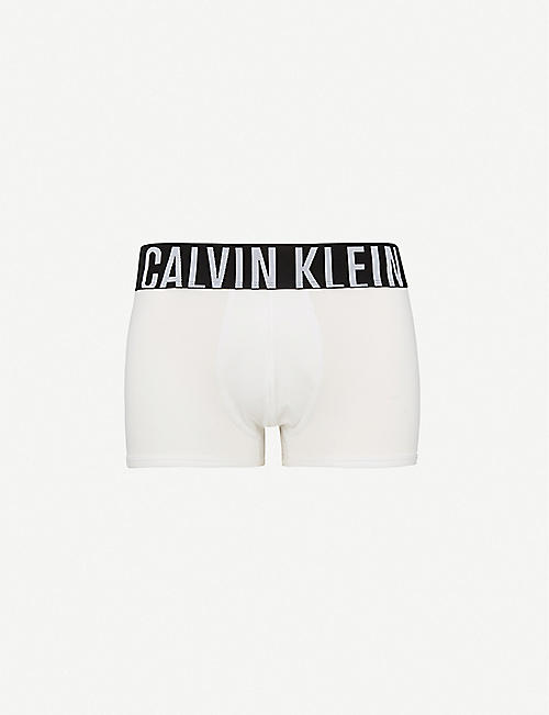 CALVIN KLEIN: Intense Power slim-fit stretch-cotton trunks