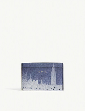 PAUL SMITH London Photo leather card holder