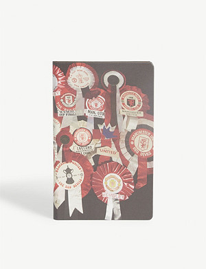 PAUL SMITH Manchester United rosette notebook 21.4cm x 13.2cm