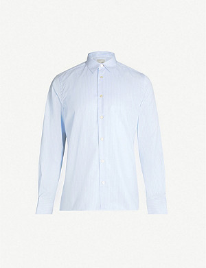 PAUL SMITH Bengal striped slim-fit cotton shirt