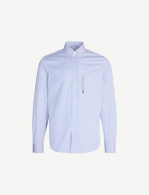 PAUL SMITH Striped Soho-fit cotton shirt