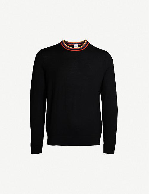 073fe6c433d558 PAUL SMITH - Knitwear - Clothing - Mens - Selfridges | Shop Online