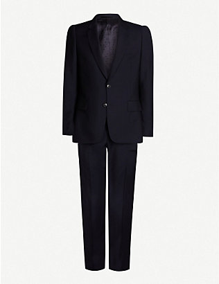 PAUL SMITH: Soho-fit wool and mohair-blend travel suit